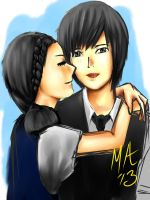 Playful Kiss by MasterAki
