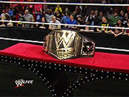 New WWE Championship Title by JakeEDangerously