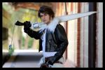 Squall Leonhart Dissidia III by alsquall