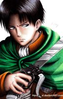 Levi Ackerman by haru4lavi
