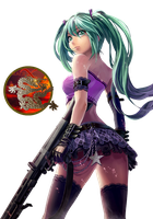 Vocaloid render by RainofRaijin
