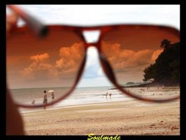 The world behind shades by Juniordave