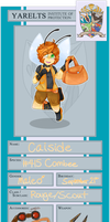 PKMN-Knight-Academy || Caiside by pastel-galaxy