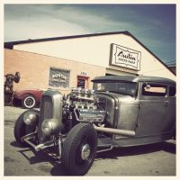 Austin speed shop by Drive-On