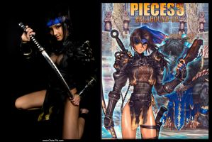 masamune shirow cosplay by shenhua-cosplay