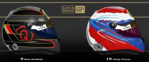Lotus Renault GP 2011 by ShinjiRHCP