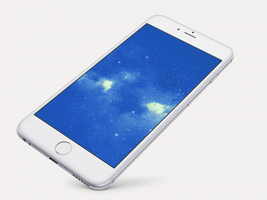 Star-Explode Wallpaper For iPhone 6 and 6 Plus by kiwimanjaro