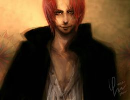 Shanks_One Piece by DZIU09