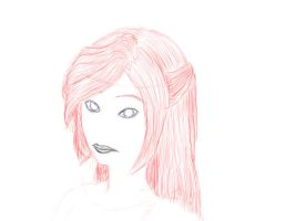 Japanese Female Head by SerenaLawless