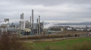 Grangemouth Refinery Towers by WestLothian