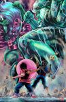 Steven Universe - Fusion Battle by WiL-Woods