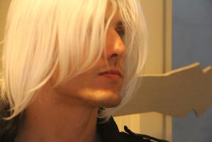 DMC3 Dante Cosplay (Wig test1) by MEG-Cosplay