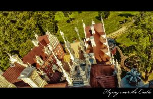 Bad Muskau - flying over the castle by calimer00