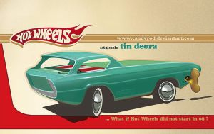 Hot Wheels Deora Tin toy by candyrod
