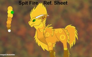 Spit Fire Ref tryout by DigiTamerKodi