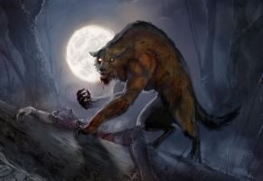 werewolf by teli333