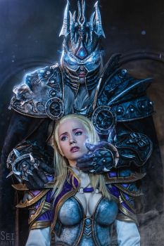 Arthas and Jaina - Prey by Narga-Lifestream