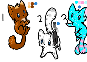 Adoptables Name your price Closed by TanaTiels