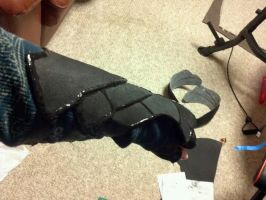 Nightingale armor- wip 2 by aretenike