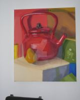 Red Tea Pot by Theo-Kyp-Serenno