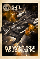 AS-FL Recruitment Poster, Cutlass by KaeKru