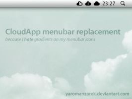 CloudApp menubar replacement by YaroManzarek