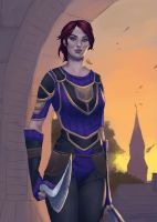 Commission: Aelivia by MissNovemberRain