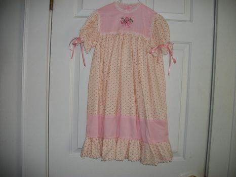 child's embroidered dress by animemama-100