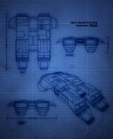 Spaceship blueprint by wiledog