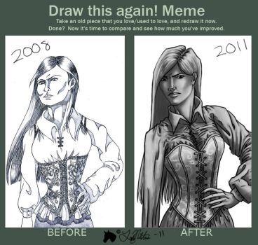 Meme: Before and After by LadyNilstria