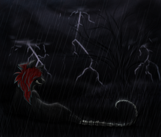 let it rain ... by DarkBroken