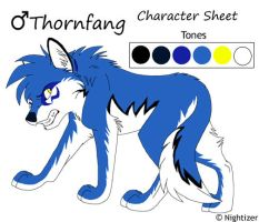 Thornfang Character Sheet Redo by Nightrizer