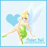 Tinker Bell by moon-valkyrie