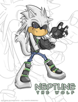 Neptune The Wolf by Spopling