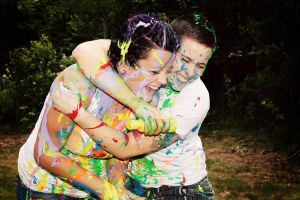 Paint Fight by RadiancePhotography1