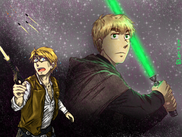 [USUK] A long time ago in a galaxy far far away... by KJCandy