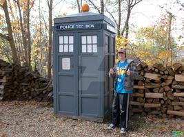 The TARDIS and I by RyanPhantom