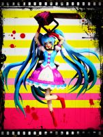 Miku psychopath mannequin - Model download by YamiSweet