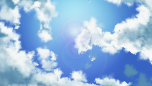 I PAINTED CLOUDS by NoUsernameIncluded