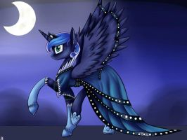 Princess Luna in Gala dress. by NeutisShow