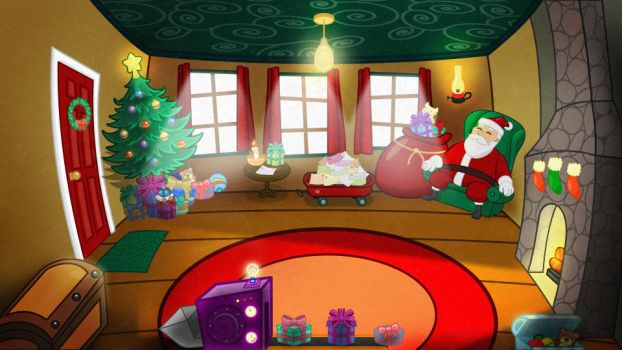 Christmas Background for PetLeco by calfasilva