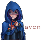 Raven(Commission) by Shricka