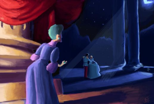 Cinderella Painting by mlaunder