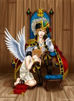 APH - Pirate n Angel by Momiji95