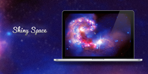 Shiny Space Wallpaper by Vincee095