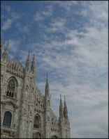 Duomo Vs Cloud by Joe-Tony