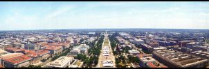 Washington Monument: East by xuushii