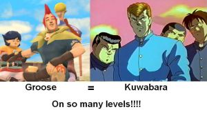 Groose equals Kuwabara by HandmaidenPhi