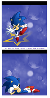 Sonic album cover no logos by adamis