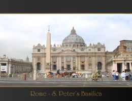 Rome Anthology - S. Peter by Geanfrancois